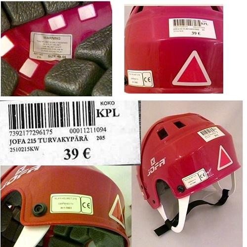 9ed76ae89b4 Detská hokejová helma