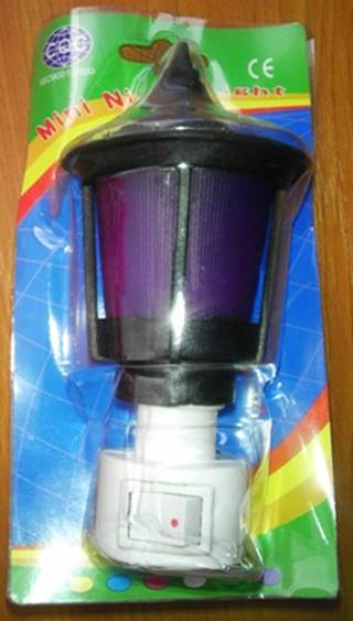 Lampa N: 63277 Mini Night Light (nebezpečný výrobok)